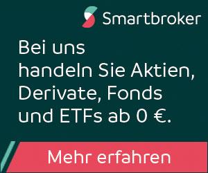Smartbroker - Ein Depot für alles: Aktien, Anleihen, Fonds, ETFs, Zertifikate, Optionsscheine. Günstige Gebühren, Tausende Fonds ohne Ausgabenaufschlag