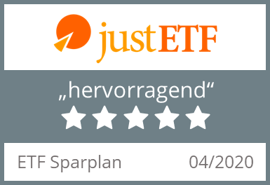 Testsiegel Just ETF