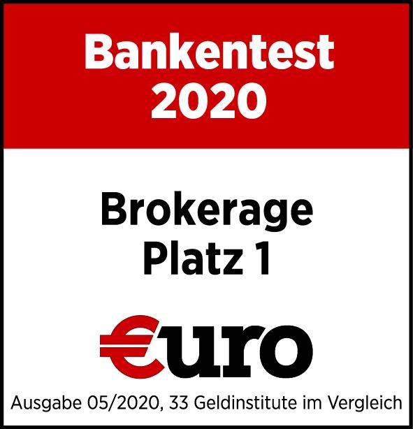 Testsiegel Bankentest 2020