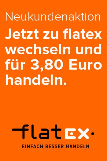 flatex - Jetzt zu flatex wechseln und für 3,80 Euro handeln. Mit bis 200 € Cashback.